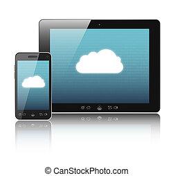 연결, cloud-computing