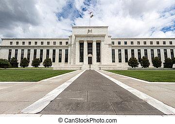 연방이다, 워싱톤, 운명짓다, d, 은행