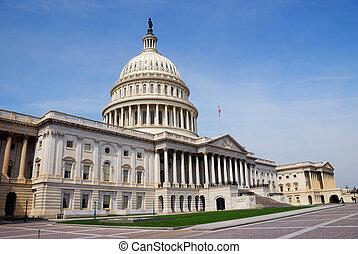 연방 의회, 워싱톤 피해 통제