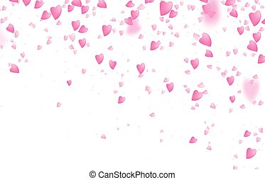 연인 날, 경계, 배경., 눈이 듯한, 이상으로부터의, 공상에 잠기는, 핑크, 사랑 심혼