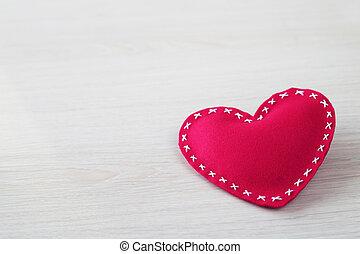 연인 날, 심장