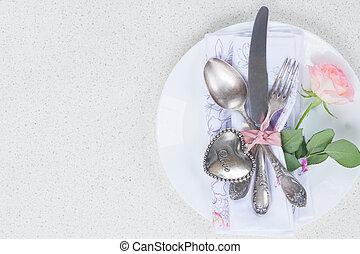 연인 날, 저녁 식사