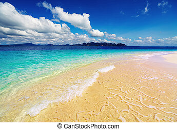 열대 바닷가, 타이