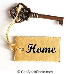열쇠, 에, 너의, 가정