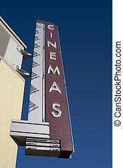 영화 극장, 표시