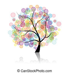 예술, 나무, 공상