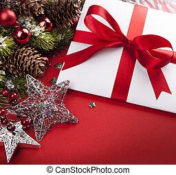 예술, 크리스마스, 인사장