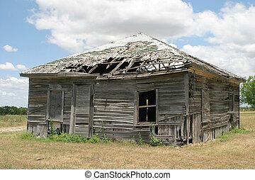 오래되었던 건물
