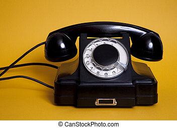 오래되었던 전화
