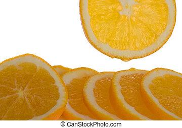 오렌지, 박편