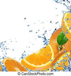 오렌지 배경