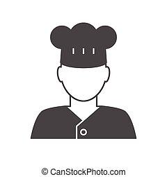 요리사, avatar, 아이콘