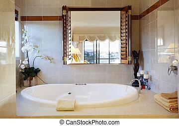 욕실, luxurious