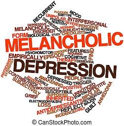 우울증의, 불경기