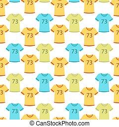 운동복, 운영하는 옷, 주자, 은 설치한다, 치고는, 스포츠, 연습, seamless, 패턴, 배경, 벡터, 삽화