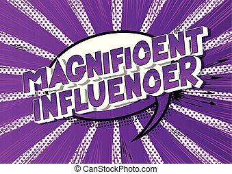 웅대한, influencer