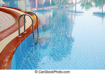 웅덩이, 수영