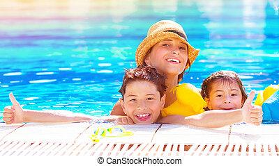웅덩이, 행복한 가족