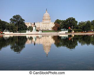 워싱톤, 언덕, 국회 의사당, dc