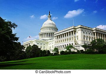 워싱톤 피해 통제, 국회 의사당
