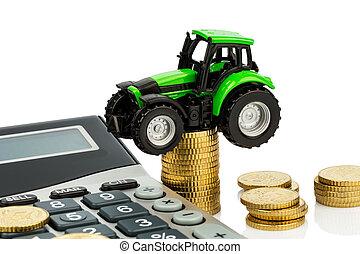 원가 계산, 에서, 농업