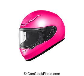 원형, 기관자전차 헬멧