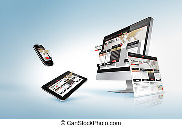 웹 디자인, 개념