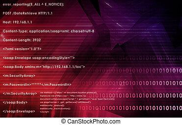 웹, 정보 기술