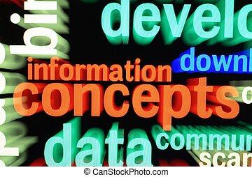 웹, 정보