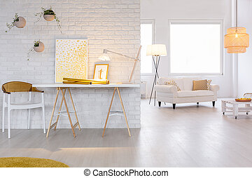 유행, 백색, 아파트