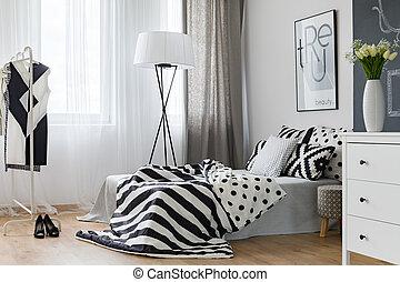 유행, 침실, 디자인
