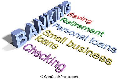 은행, 저금, 재정, 사업, 서비스