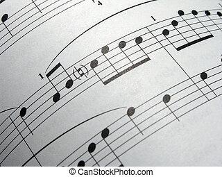 은 구부렸다, 음악