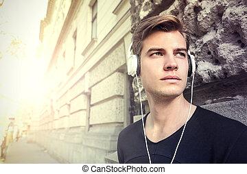 음악, 남자