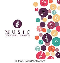 음악, 디자인