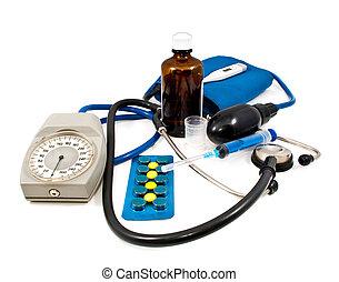 의료 기기, 와..., 약