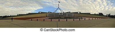 의회, 집, canberra, 호주