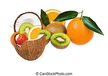 이국적인 과일