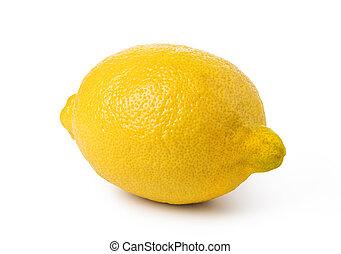 익은, 레몬, 과일