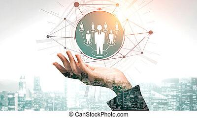 인간 사람, 개념, 자원, 네트워킹
