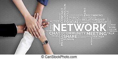 인간 사람, 자원, 개념, 네트워킹