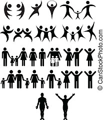 인간, 상징