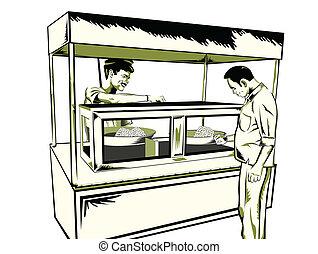 인도 사람, 간이 식품, 간단한 식사