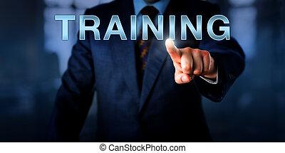 인적 자원, 매니저, 압착하기, 훈련