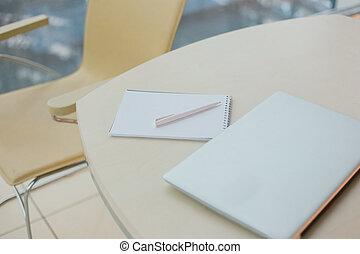 일하는 사무실, 항목, 환경, 테이블, 유행