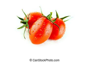 자두, 신선한 토마토