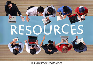 자원, 에서, 사업, concept., 최고의 보기, 실업가, meeting., 합성물 심상, 1명의 사람, 개조되는, 가령...와 같은, 많은