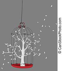 자유, 개념, 나무