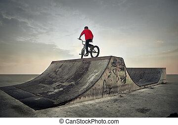 자전거, 남자