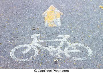 자전거, 좁은 길